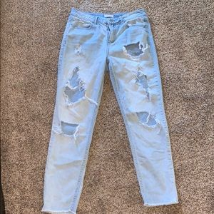 Sky and Sparrow Distressed Jeans